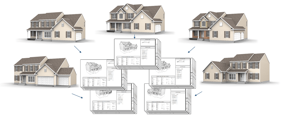 Architecture Drawing Kit vertex bd for home building - argos systems, inc.